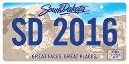 SD Standard Plate 2016