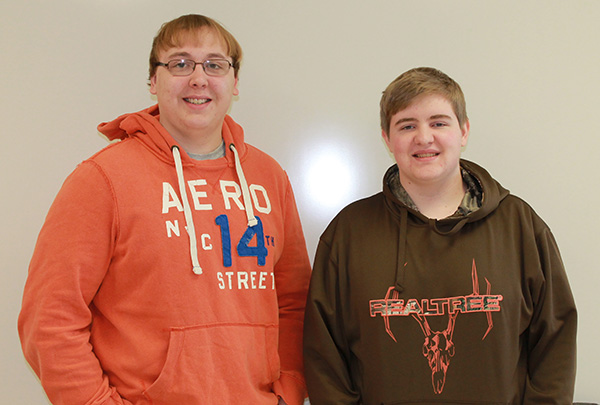 BYRON JESSEN and Logan Effling's business plan will advance to the state competition in Pierre next Wednesday