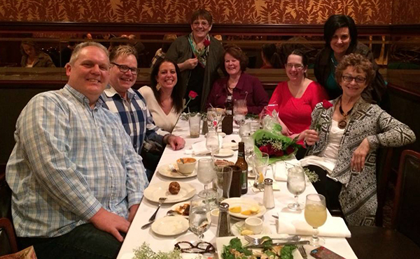 Pictured left to right: Ken Johnson, Craig Godfrey, Misty Brewer, Georgia Bennett, Esther Buck, Brittney Baysinger, Tina Arends and Dee Baysinger.