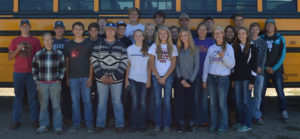 PICTURED ARE the SC/W FFA members who participated in the Land and Range Contest.