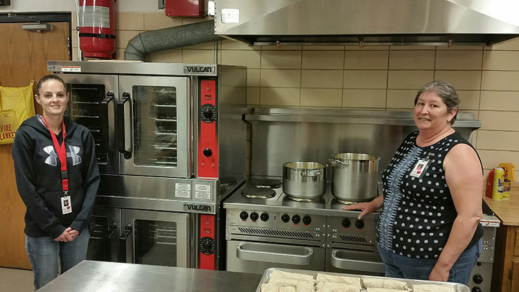 Woonsocket School purchases new kitchen equipment | Sanborn ...