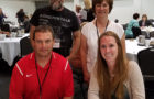 Pictured are, back row, mentors Jason Bruce and Lynn Klaas; front row, mentees Darin Schmiedt and Emily Hendriksen.